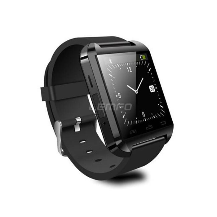 Smartwatch zwart acties mares